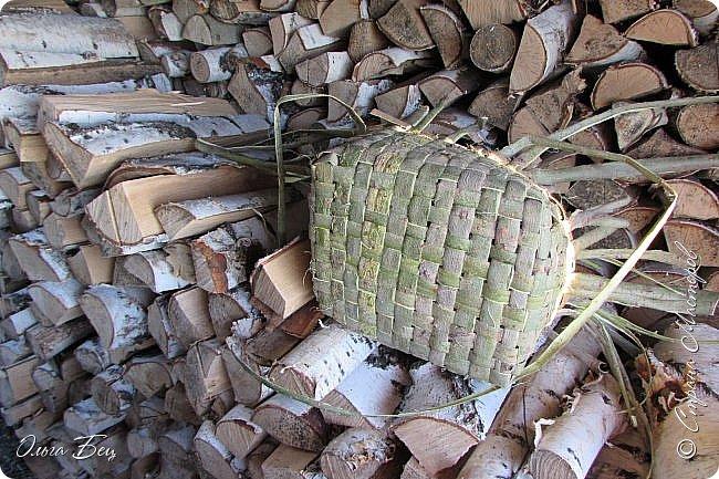 Добрый день! Встречаю вас душистой лесной клубникой в плетёном коробе из ивового  лыка:) фото 8