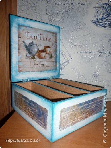 Коробка для чая в подарок подруге на День Рожденья фото 4
