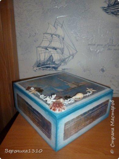Коробка для чая в подарок подруге на День Рожденья фото 1
