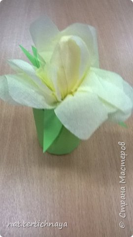 Добрый день всем жителям Страны Мастеров! Эти цветочные букетики мы сделали с ребятами 6 класса ко Дню Матери по описанию Татьяны Николаевны Просняковой. По ее мастер- классу. Спасибо ей большое! фото 7