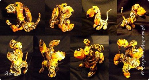 Стройные собаки, в ладонь высотой. фото 2