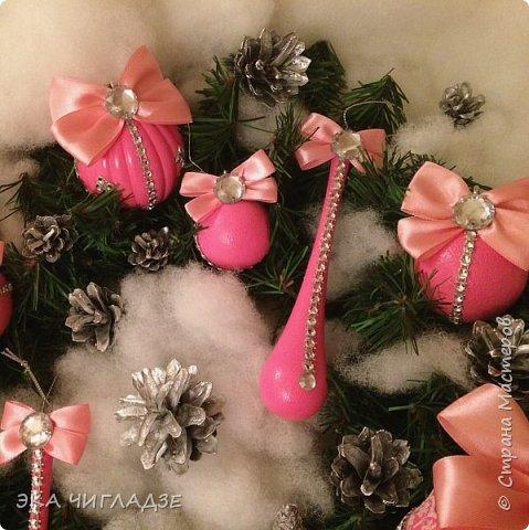 Ещё один набор розовых шариков фото 2