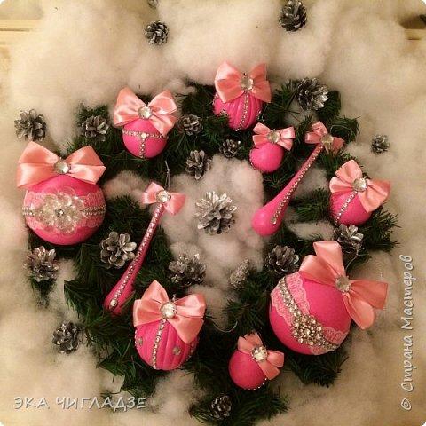 Ещё один набор розовых шариков фото 1