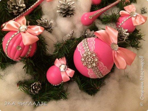 Ещё один набор розовых шариков фото 4