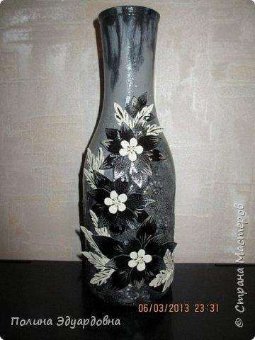 Декор бутылок фото 1