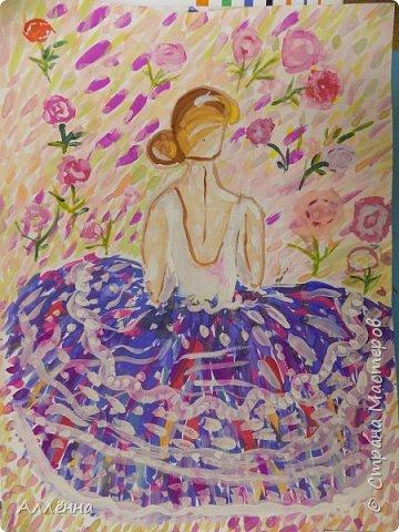 Рисование - самый простой способ погрузиться в мир волшебства, гармонии  и любви. Спасибо моим детям за это!  Сочные сказочные мотивы :) Добрый путник войди в славный город Багдад!  фото 8