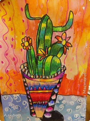 Рисование - самый простой способ погрузиться в мир волшебства, гармонии  и любви. Спасибо моим детям за это!  Сочные сказочные мотивы :) Добрый путник войди в славный город Багдад!  фото 11