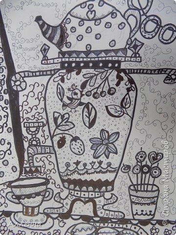 Рисование - самый простой способ погрузиться в мир волшебства, гармонии  и любви. Спасибо моим детям за это!  Сочные сказочные мотивы :) Добрый путник войди в славный город Багдад!  фото 19
