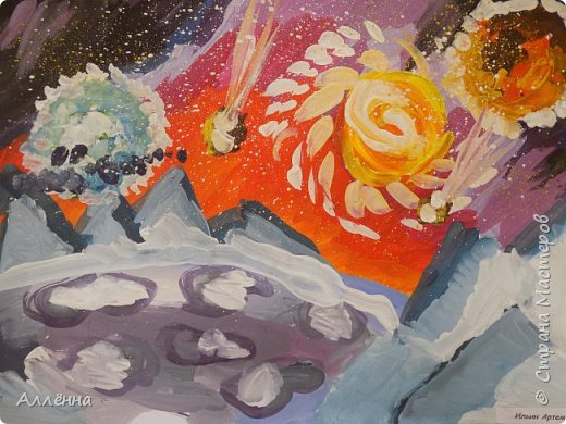 Рисование - самый простой способ погрузиться в мир волшебства, гармонии  и любви. Спасибо моим детям за это!  Сочные сказочные мотивы :) Добрый путник войди в славный город Багдад!  фото 22