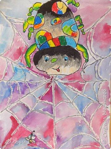 Рисование - самый простой способ погрузиться в мир волшебства, гармонии  и любви. Спасибо моим детям за это!  Сочные сказочные мотивы :) Добрый путник войди в славный город Багдад!  фото 15