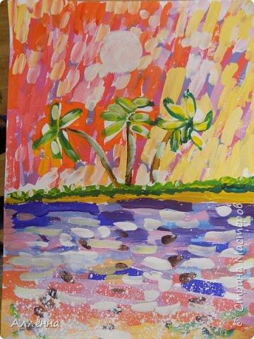 Новый сезон, новые темы, техники и только любовь <3 неизменна Рисунки души  Это море меня покарило, смогу ли я сама подобрать такую гамму для воды?  фото 3