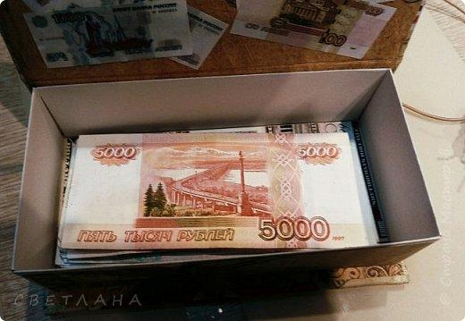 Купюрница для хранения денег фото 2
