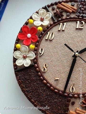 Часы диаметром 30 см фото 4