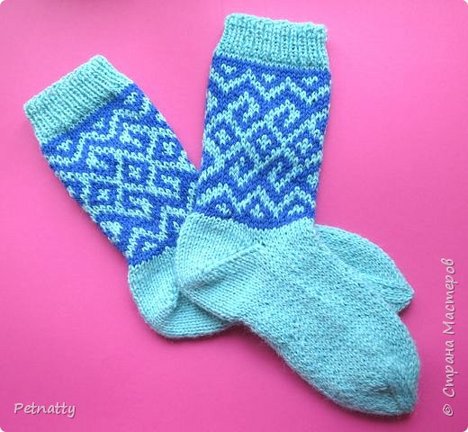 Связала ещё две пары носков. фото 2