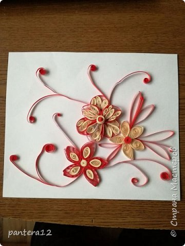 Училась делать разные цветы и в завершение вот такое у меня получилось.