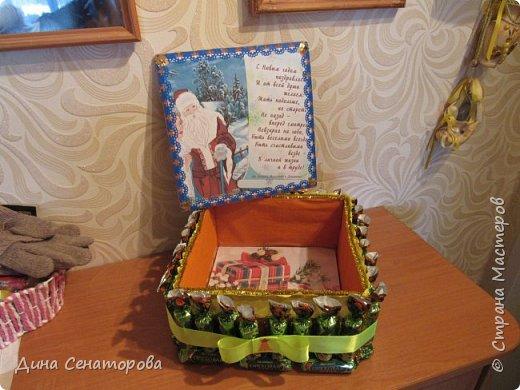Подарочная коробка из конфет фото 4