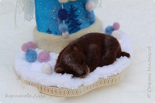 """Наконец то выпал снег! Как же я люблю его! И тут же подоспела новая кукла """"Зима"""") фото 4"""