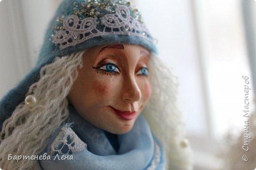 """Наконец то выпал снег! Как же я люблю его! И тут же подоспела новая кукла """"Зима"""") фото 3"""