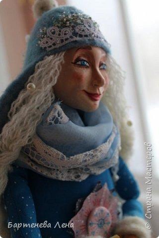 """Наконец то выпал снег! Как же я люблю его! И тут же подоспела новая кукла """"Зима"""") фото 5"""