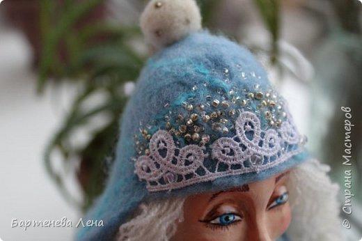 """Наконец то выпал снег! Как же я люблю его! И тут же подоспела новая кукла """"Зима"""") фото 6"""