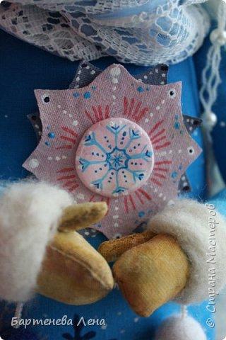 """Наконец то выпал снег! Как же я люблю его! И тут же подоспела новая кукла """"Зима"""") фото 7"""