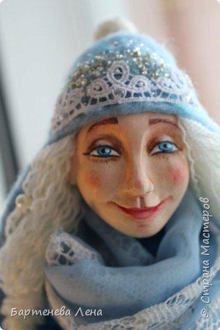 """Наконец то выпал снег! Как же я люблю его! И тут же подоспела новая кукла """"Зима"""") фото 9"""