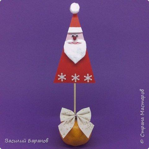 Украшение для новогоднего стола «Дедушка Мороз»