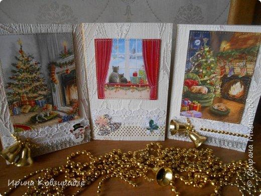 Ещё три открытки с котами. фото 1