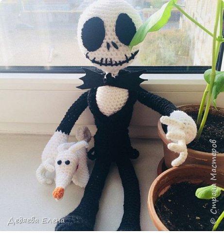 Скелетон с другом псом-призраком фото 1