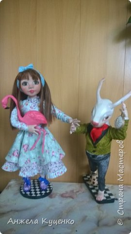 Алиса и белый кролик фото 1