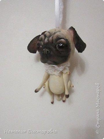 Всем ,здравствуйте! Вот такие собачки у  меня получились! Лапки подвижные! фото 2