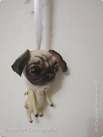 Всем ,здравствуйте! Вот такие собачки у  меня получились! Лапки подвижные! фото 3