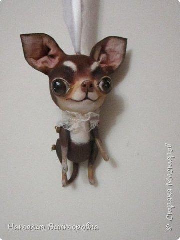 Всем ,здравствуйте! Вот такие собачки у  меня получились! Лапки подвижные! фото 8