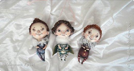 Всем привет! А мы потихоньку готовимся к Новому году и Рождеству:) И вот мои рождественские ангелочки появляются на свет. Стараюсь делать их разными. фото 7