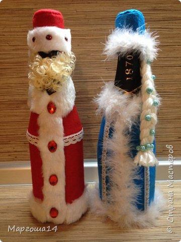 Привет,Страна Мастеров!!! Продолжаем готовиться к Новому Году. Дед Мороз - рост (без шапочки) 17 см,в ручки вставлена проволока. фото 13