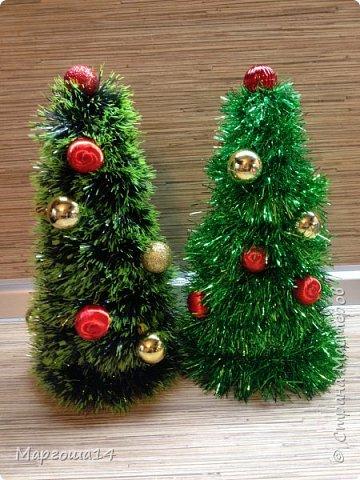 Привет,Страна Мастеров!!! Продолжаем готовиться к Новому Году. Дед Мороз - рост (без шапочки) 17 см,в ручки вставлена проволока. фото 7