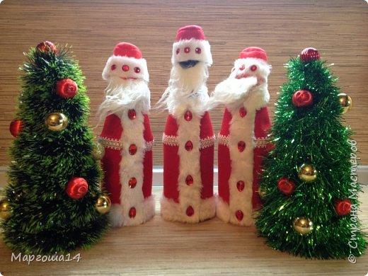 Привет,Страна Мастеров!!! Продолжаем готовиться к Новому Году. Дед Мороз - рост (без шапочки) 17 см,в ручки вставлена проволока. фото 18