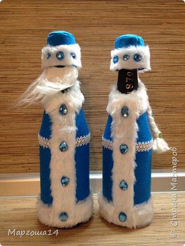 Привет,Страна Мастеров!!! Продолжаем готовиться к Новому Году. Дед Мороз - рост (без шапочки) 17 см,в ручки вставлена проволока. фото 14