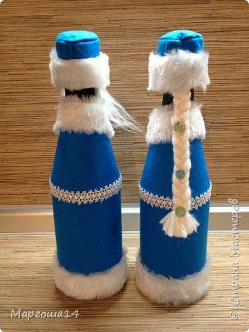 Привет,Страна Мастеров!!! Продолжаем готовиться к Новому Году. Дед Мороз - рост (без шапочки) 17 см,в ручки вставлена проволока. фото 15