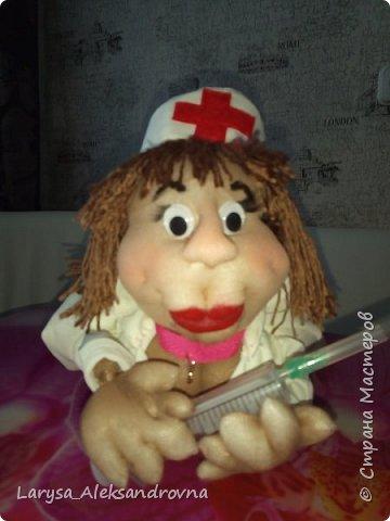 Куколка доктор, медсестра фото 1