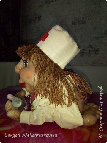 Куколка доктор, медсестра фото 2