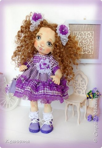 Куколки текстильные. фото 5