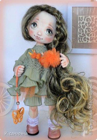 Куколки текстильные. фото 2