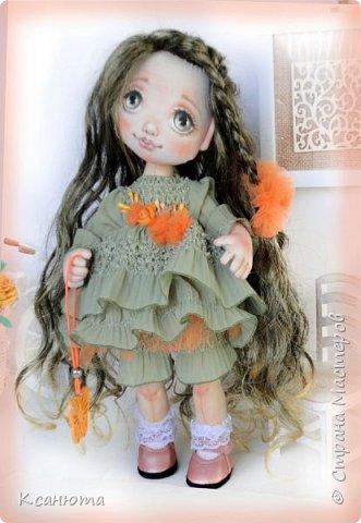 Куколки текстильные. фото 3