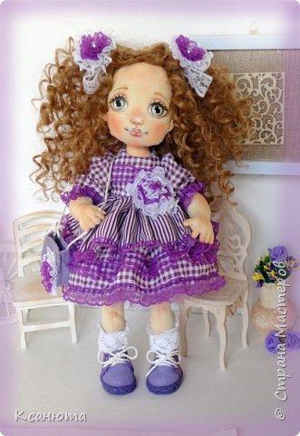 Куколки текстильные. фото 6
