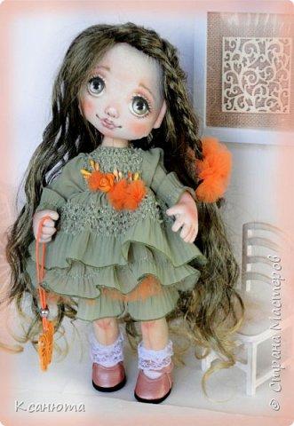Куколки текстильные. фото 1