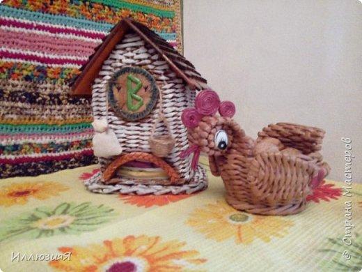 Задумывался чайный домик,но по размеру оказался большой,поэтому приспособила под пакеты фото 2
