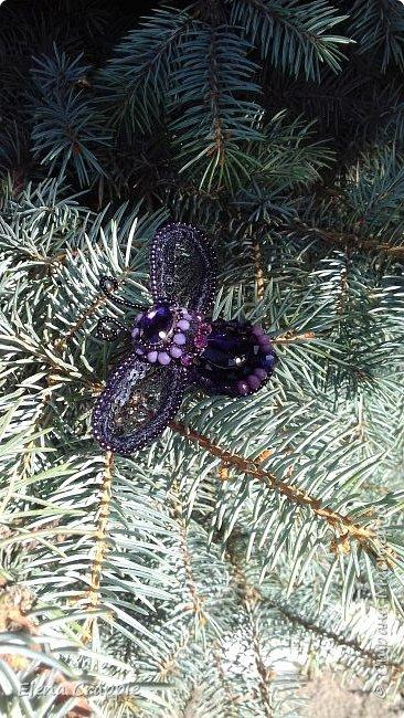 Броши насекомые.Муха,жучок и бабочка. фото 29