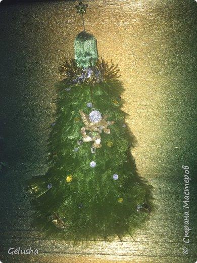 Всем заглянувшим огромный привет!!! Представляю вашему вниманию свой маленький новогодний елочный питомник))) за идею огромное спасибо мастерицам СМ. Итак елочка зелёная, платьеце снимается,так что открывать бутылочку не жалко фото 1