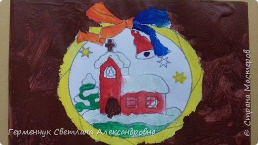 """С   хорошим настроением  на уроке ИЗО раскрасили ребята  3 """"А"""" класса   вот такие  елочные игрушки  . Скоро-скоро наступит  зима , Новый год..А  еще - и самые долгожданные зимние каникулы !!!  Вот только  бы выпал    снег!!!  Ждем с нетерпением!!! фото 13"""